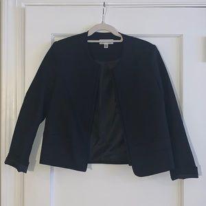 Calvin Klein Black Cropped Blazer